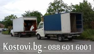 Товарене на боклуци и извозване